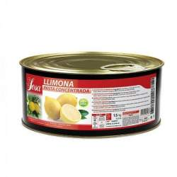 LLIMONA NATURAL EN PASTA 1500 G SOSA